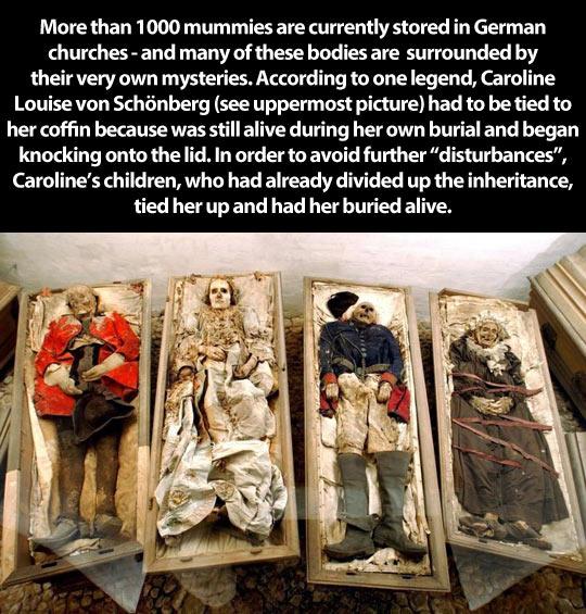 Mummies in Germany…