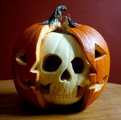cool-pumpkin-carved-skull