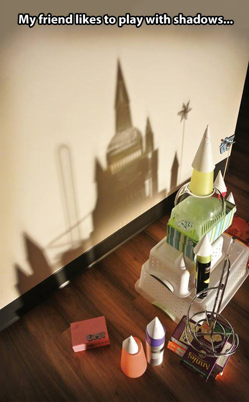 Creating with shadows…