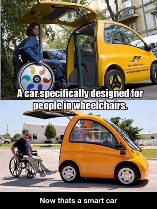 The real smart car…