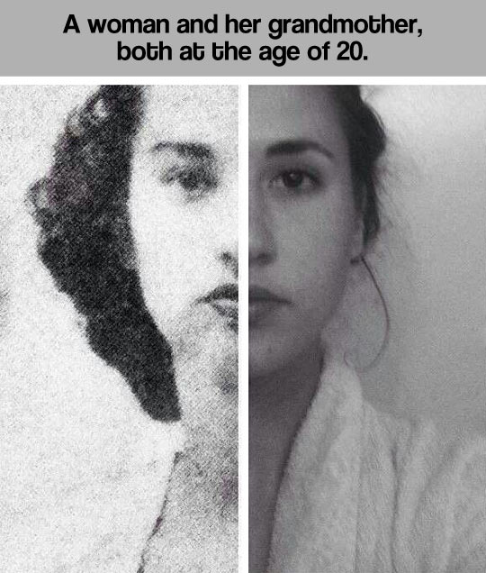 cool-woman-grandmother-comparison-pictures
