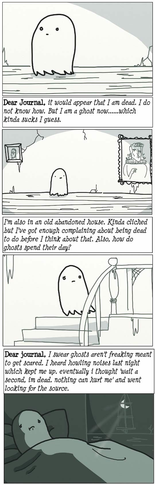 The cutest ghost story ever...