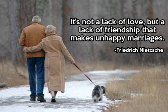 Unhappy marriages…