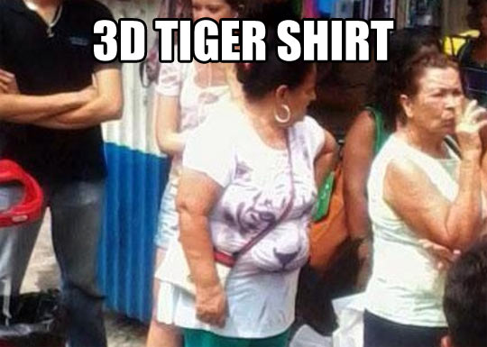 3D shirt…