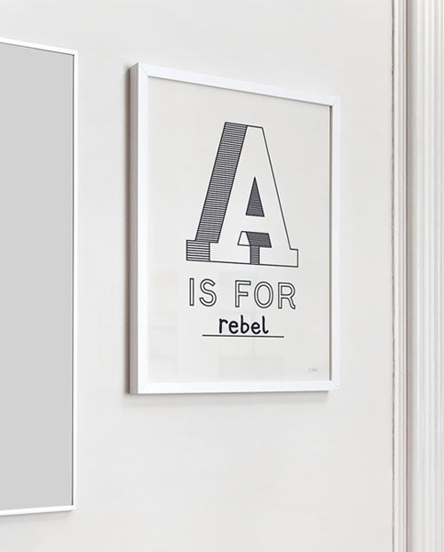 'A' is for…