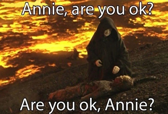 You've been hit by, you've been struck by, a smooth Kenobi…