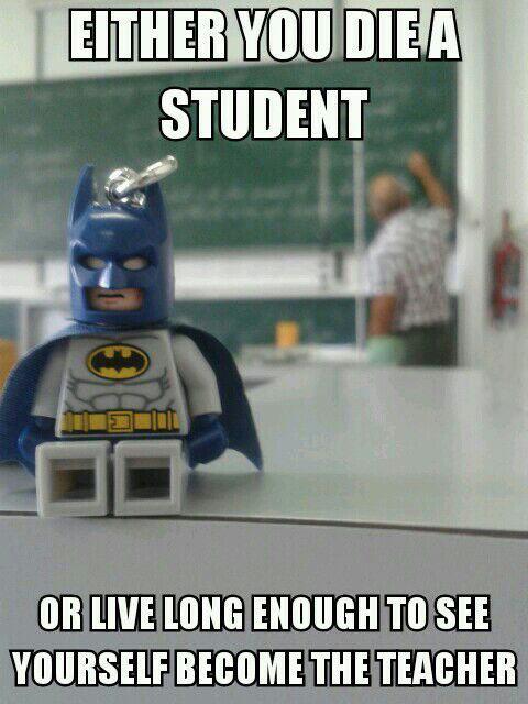 That's right Batman…