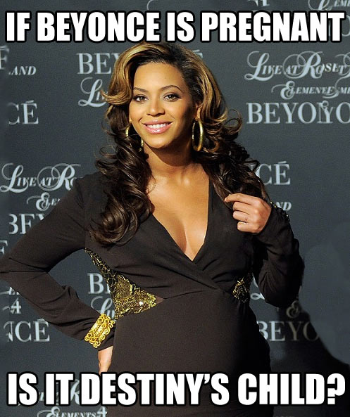 If Beyonce is pregnant…