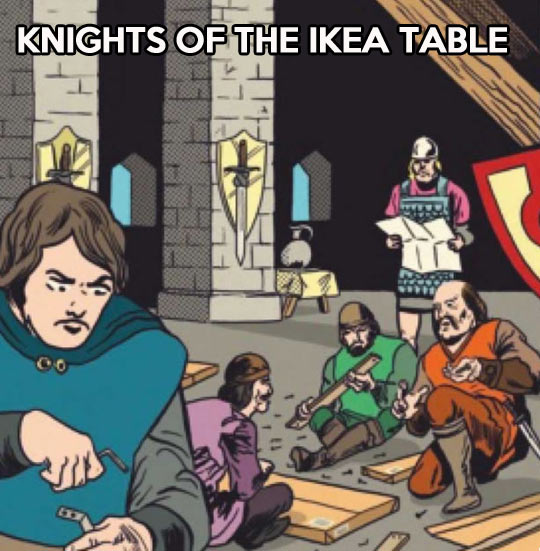 Meanwhile in Camelot…