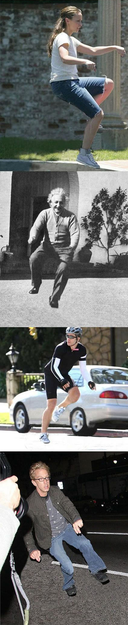 funny-Celebrities-riding-invisible-bicycles-Einstein