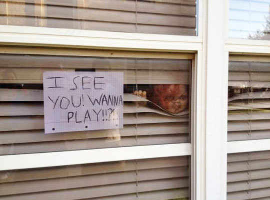 When it comes to Halloween, my neighbor doesn't mess around…