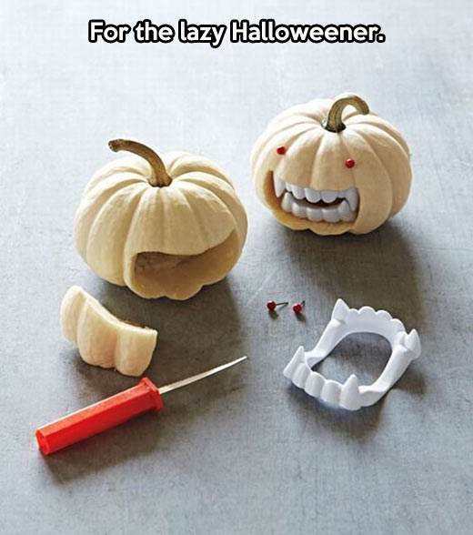Definitely doing this on Halloween…