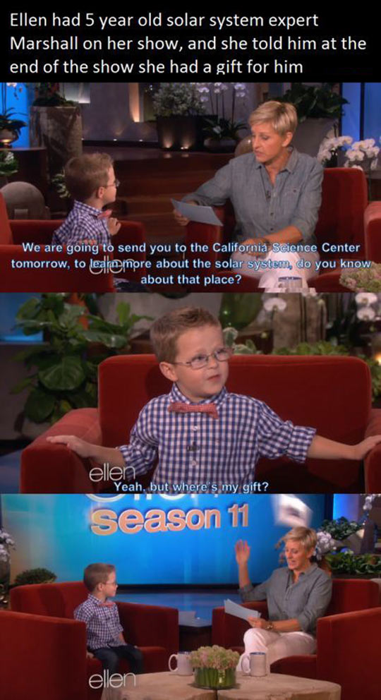 funny-Ellen-show-kid-gift-Science-Center