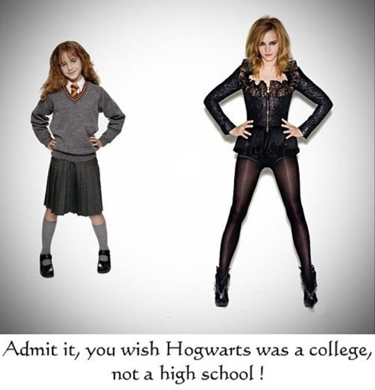If anything needed to be changed about Hogwarts…