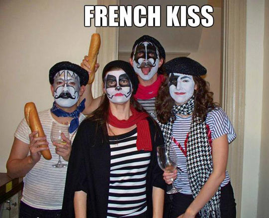 The real French Kiss…