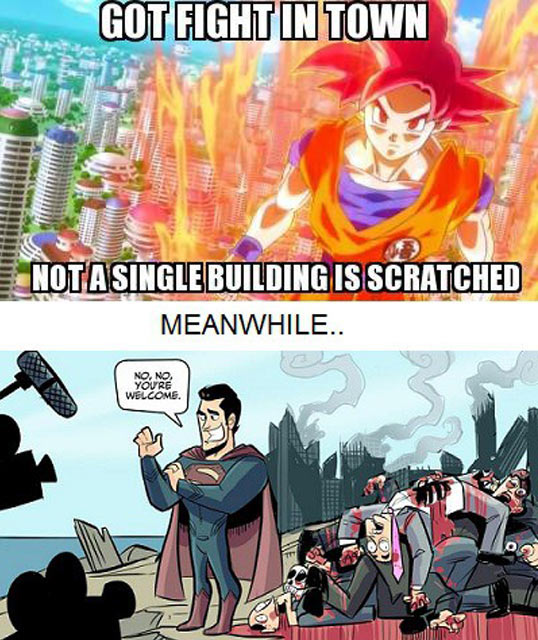 Goku vs. Superman…