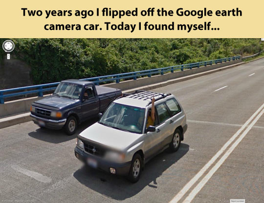 funny-Google-maps-flipping-off