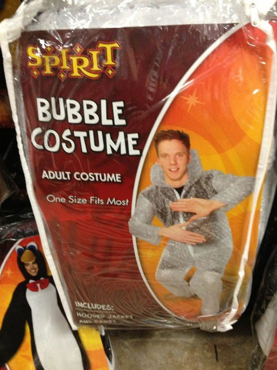 I know what costume I'm ordering this Halloween…