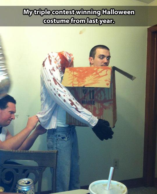 Great Halloween costume idea…