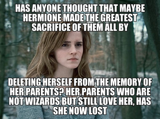 Well done Hermione…