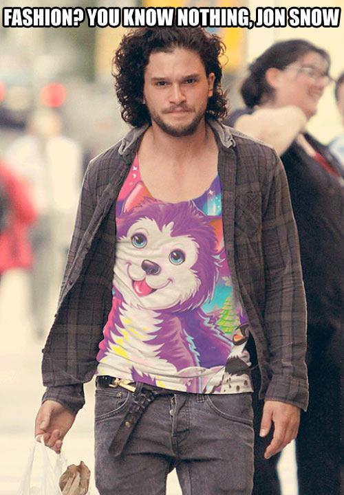 Jon Snow's fashion…