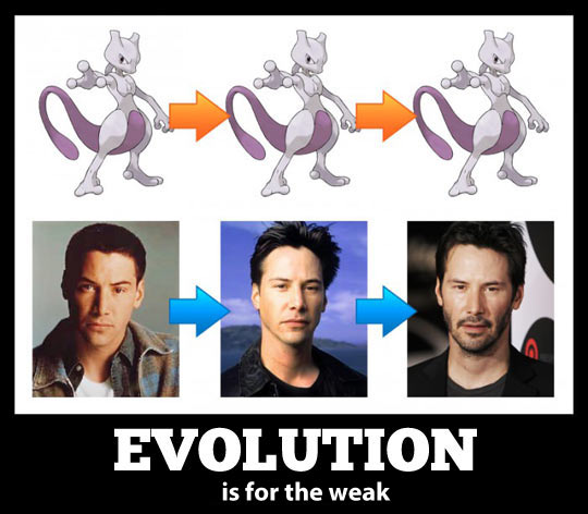 funny-Keanu-Reeves-evolution-Mewtwo