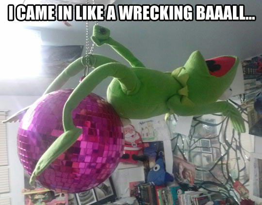 Funny Kermit The Frog: Wrecking Kermit…
