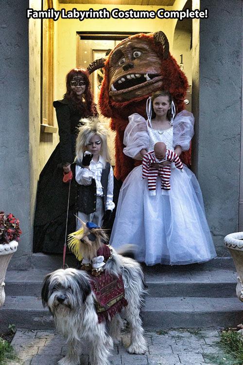 Amazing family Halloween costumes…