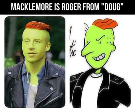 Macklemore's real identity…