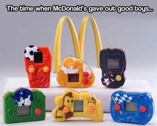 McDonald's good old days…