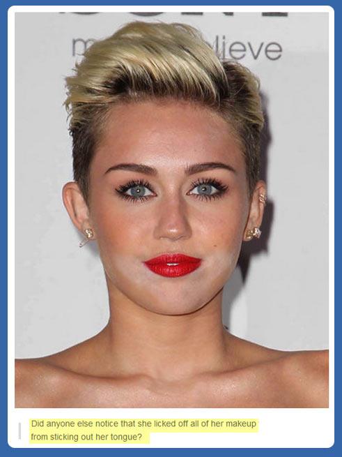 funny-Miley-Cyrus-makeup-lick