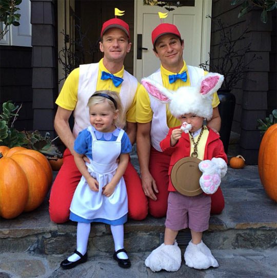 Neil Patrick Harris and his awesome family…