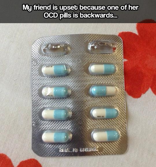 OCD pill…