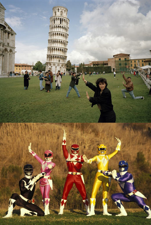 Mighty Morphin Tourists Rangers…