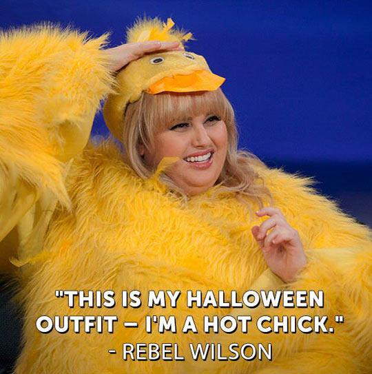 Rebel Wilson's Halloween costume…