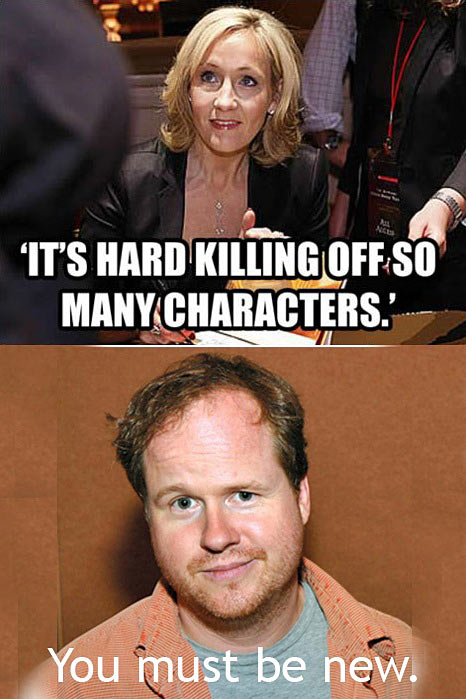 Joss Whedon knows…