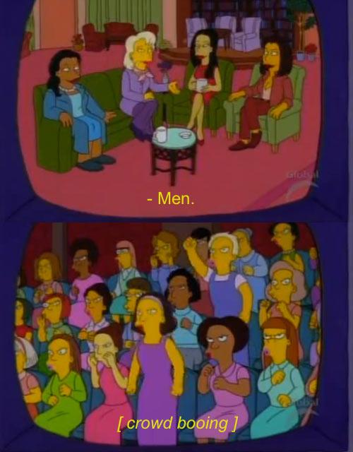Men according to women talk shows…