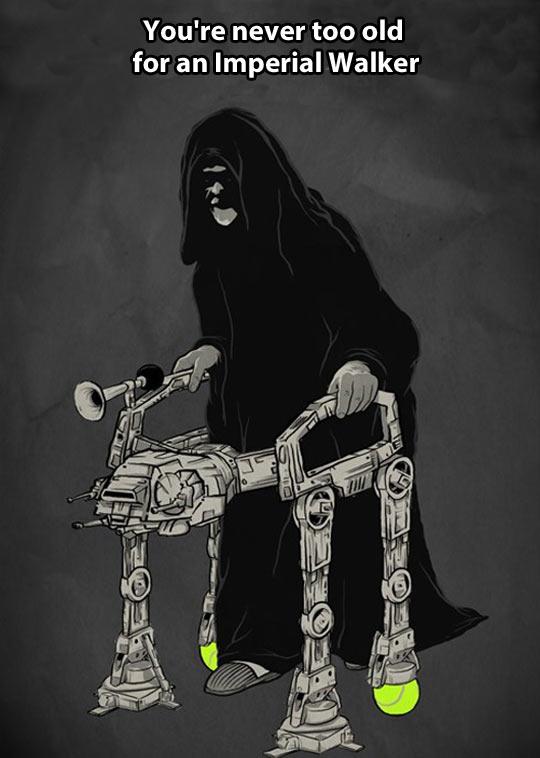 Imperial walking…