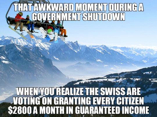 Oh Switzerland…