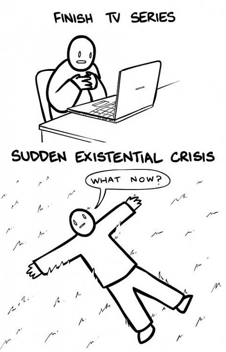 Every time a TV series ends…