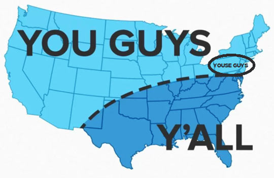 Accurate US Pronunciation Map - Funny maps of the us
