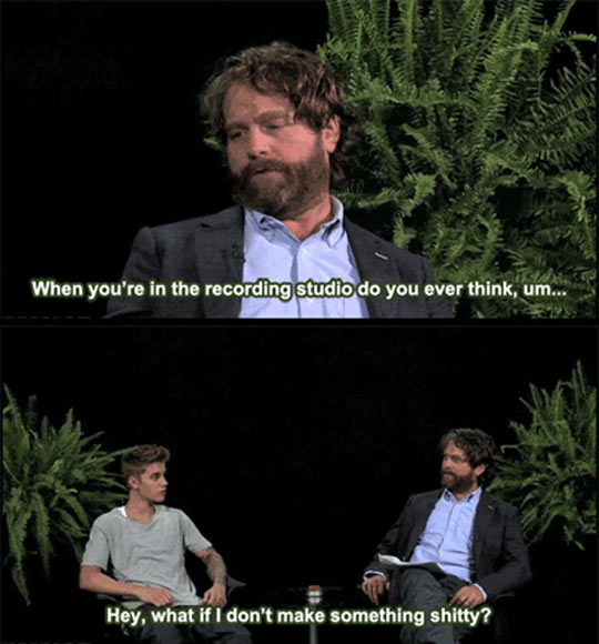 Zach Galifianakis Funny Meme : Zach galifianakis gets serious with justin bieber…