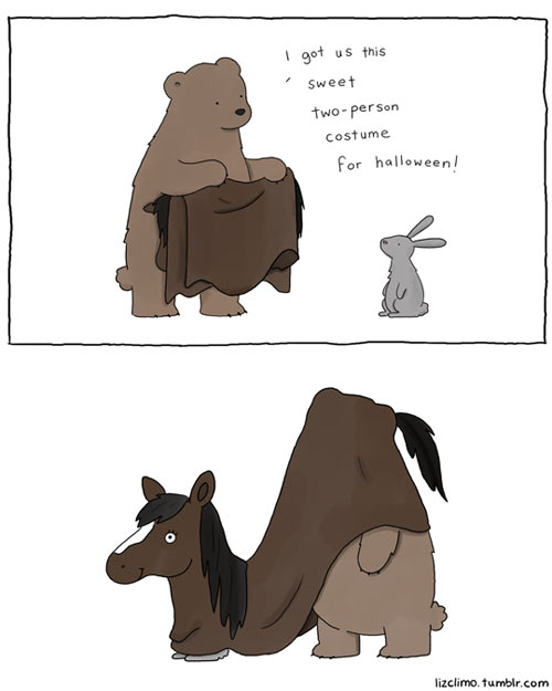 funny-animal-cartoon-two-person-costume-Halloween