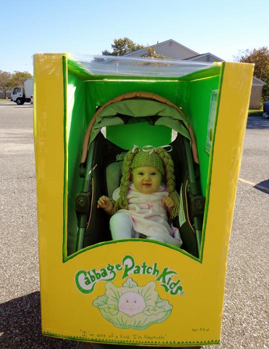 Daughter's costume…