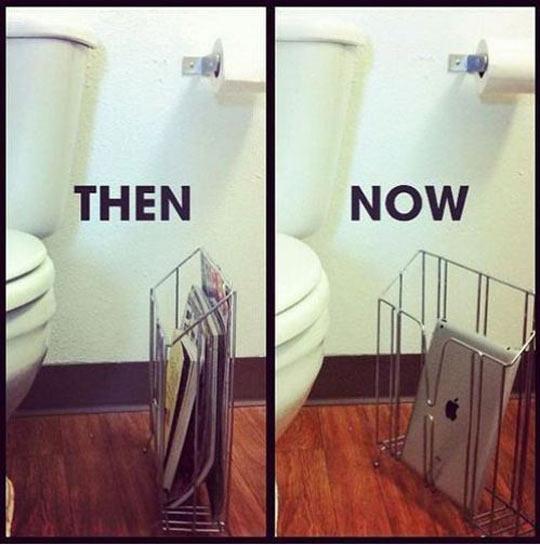 A new tendency…