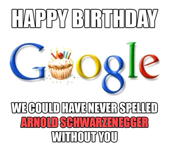 Happy birthday Google…