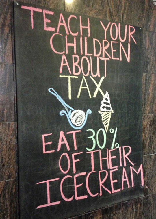 Teach your children…