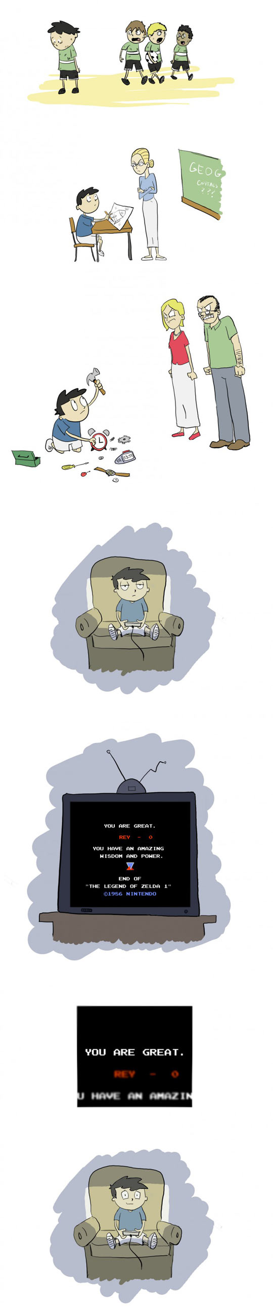 The reason I love video games…