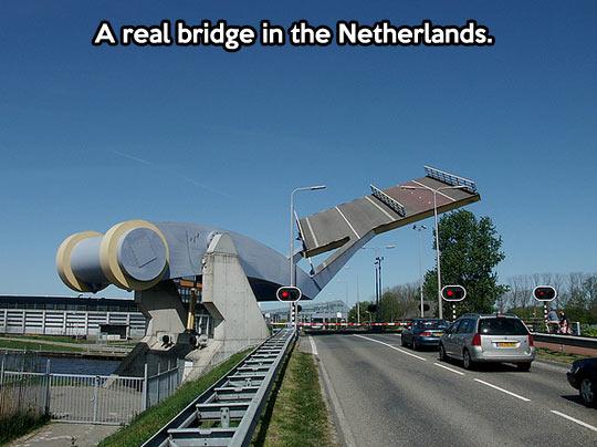 A wonderful piece of modern engineering…