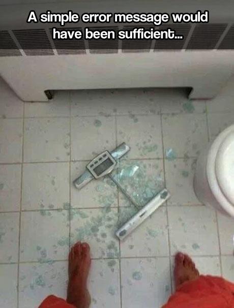 Scumbag scale…